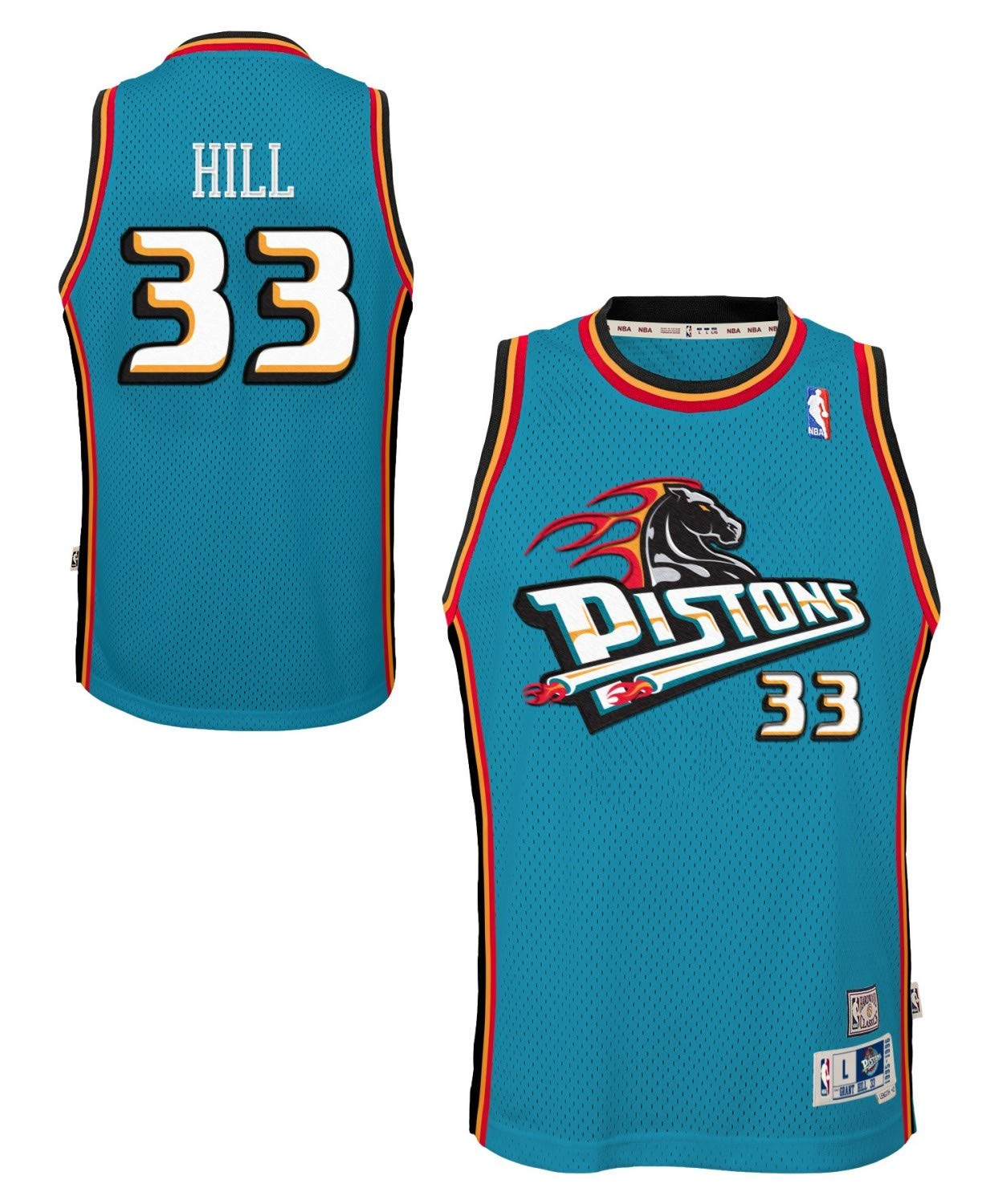 info for 012b2 1e5f6 Amazon.com : Grant Hill Detroit Pistons Youth Swingman ...