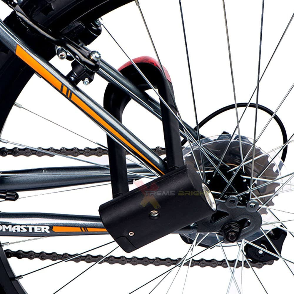 Xtreme Bright Illumilock Cable Bike Lock This Cycle Security Cable is the Ult