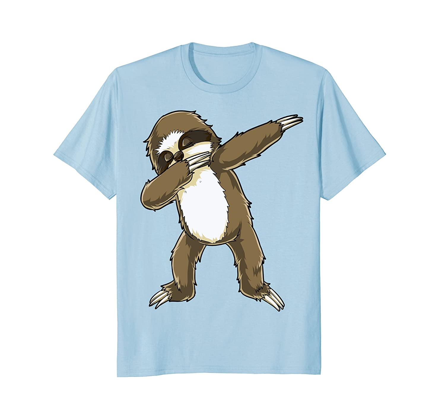 87c625c3 Imported Machine wash cold with like colors, dry low heat. Funny Cute Sloth  doing the famous dab dance Tshirt.