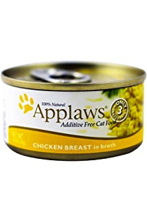 Applaws Chicken Breast in Broth 2.47 Ounces, Case of 24
