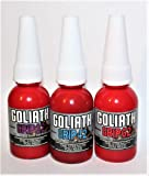 Goliath Grip 62 - Permanent Red Threadlocker up