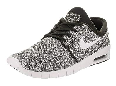 9d3f687c61ad Nike SB Stefan Janoski MAX Men s Sneaker 631303-028-size 4.5 Black White
