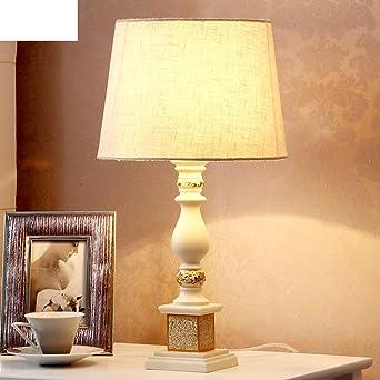 Lámparas de mesita de noche dormitorio escandinavo/Elegante, minimalista moderno IKEA mesa lámpara de Creative-Regulador de intensidad: Amazon.es: Iluminación