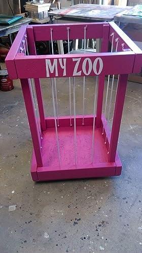 Amazon Com Stuffed Animal Zoo Stuffed Animal Storage Toy