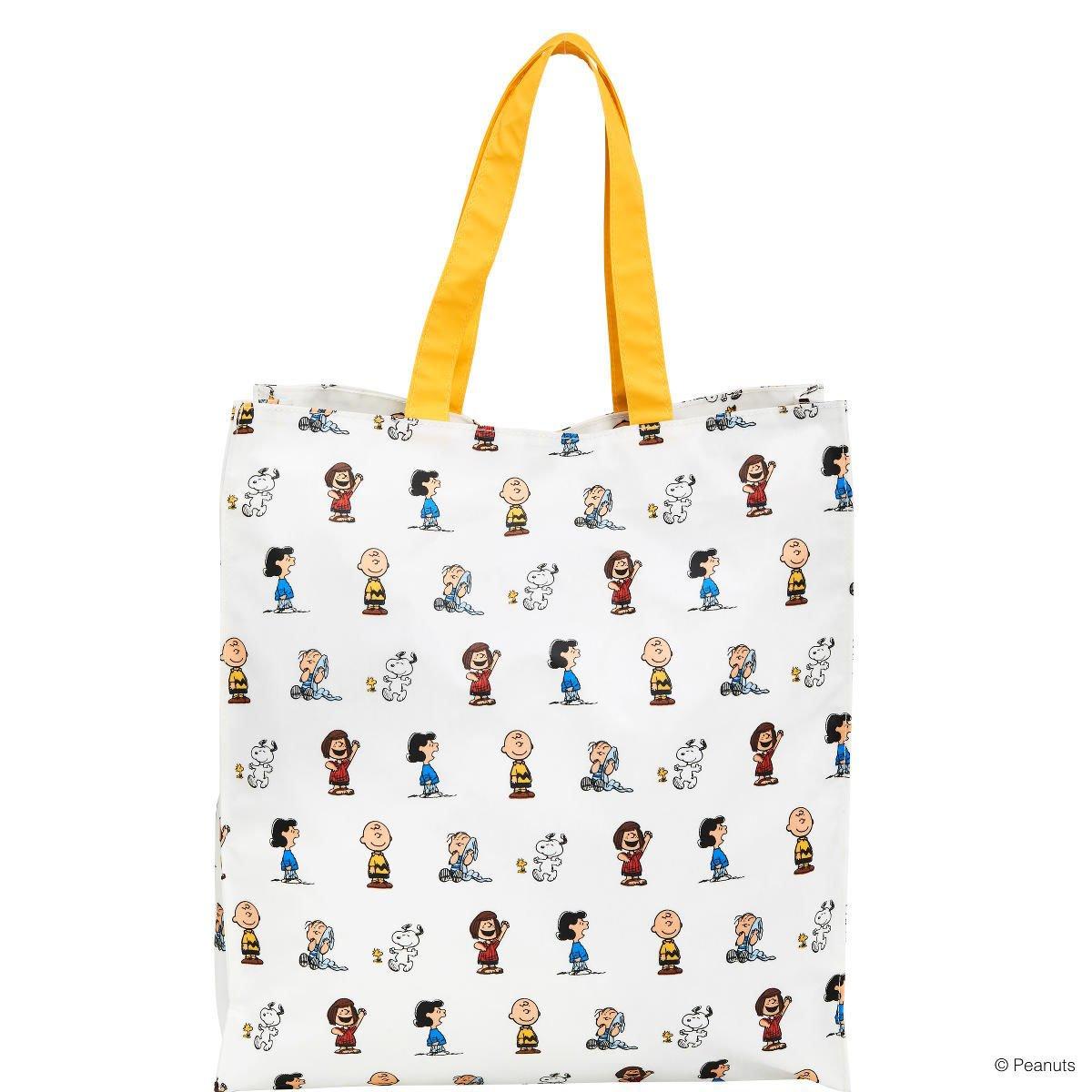 BUTLERS Peanuts Einkaufstasche groß- Shopper - Baumwolle, PVC - 36x40x10 cm