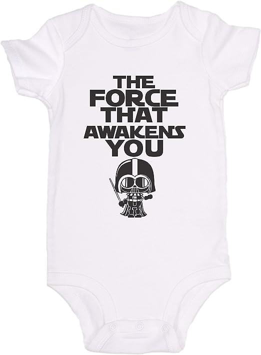 para beb/é el mejor regalo para beb/é Mono de beb/é Promini con dise/ño de The Force That Awakens You Star Wars de una pieza