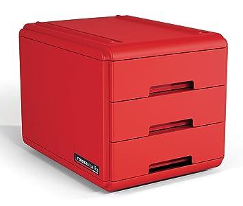 Arda 19p3prir Mini cajonera, rojo: Amazon.es: Oficina y ...