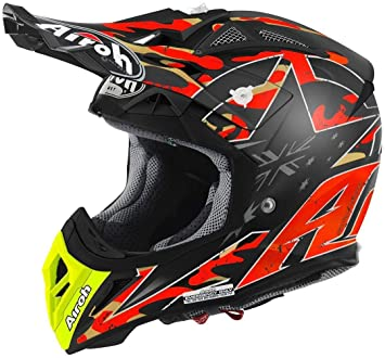 Airoh Casco Aviator 2.2 Réplica Phillips – Naranja Mate