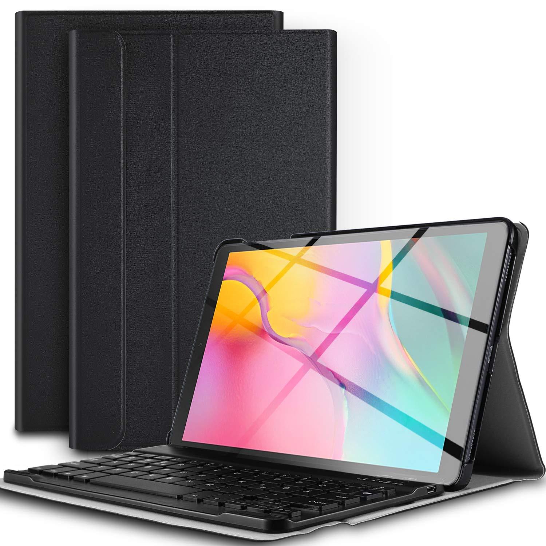 超歓迎 ELTD TAB キーボードケース Samsung A Galaxy TAB A 10.1 2019 10.1 フロントプロップスタンドケース 取り外し可能なキーボード付き Samsung Galaxy TAB A 10.1 SM-T510/SM-T515 2019タブレット用 ブルー B07Q5X7GH2, 大木町:86bcf59b --- a0267596.xsph.ru