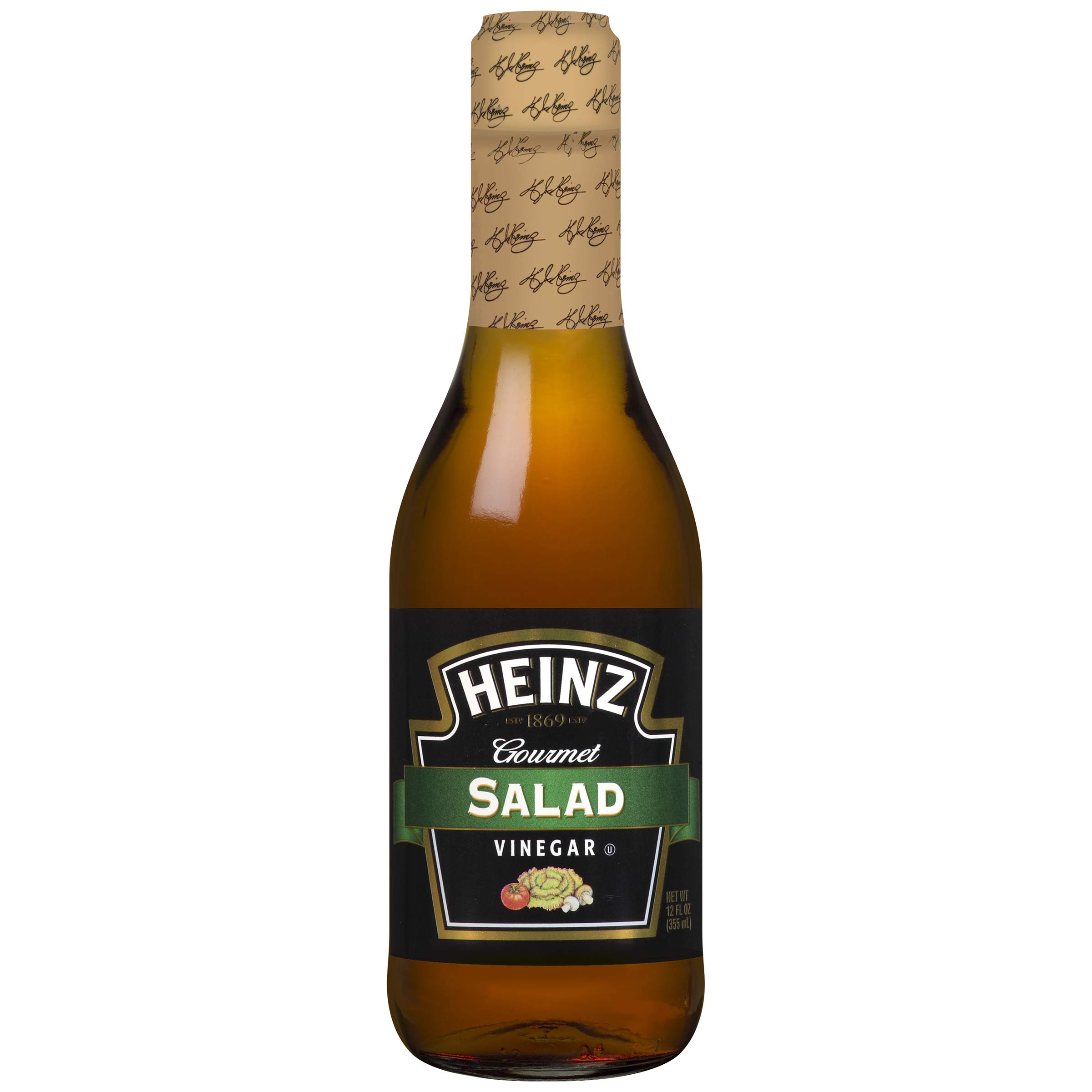 Heinz Salad Vinegar (12 oz Bottles, Pack of 12) by Heinz
