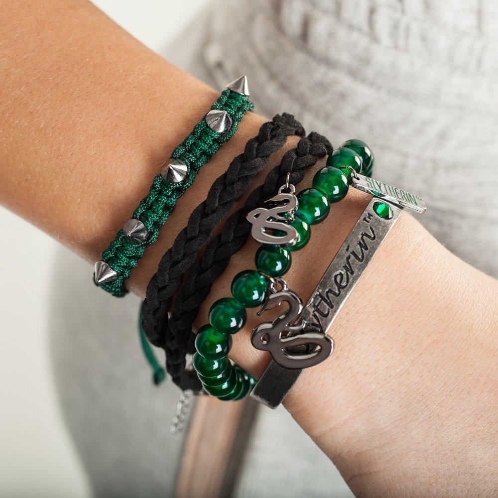 Harry Potter House Bracelet Gift Set (Slytherin)