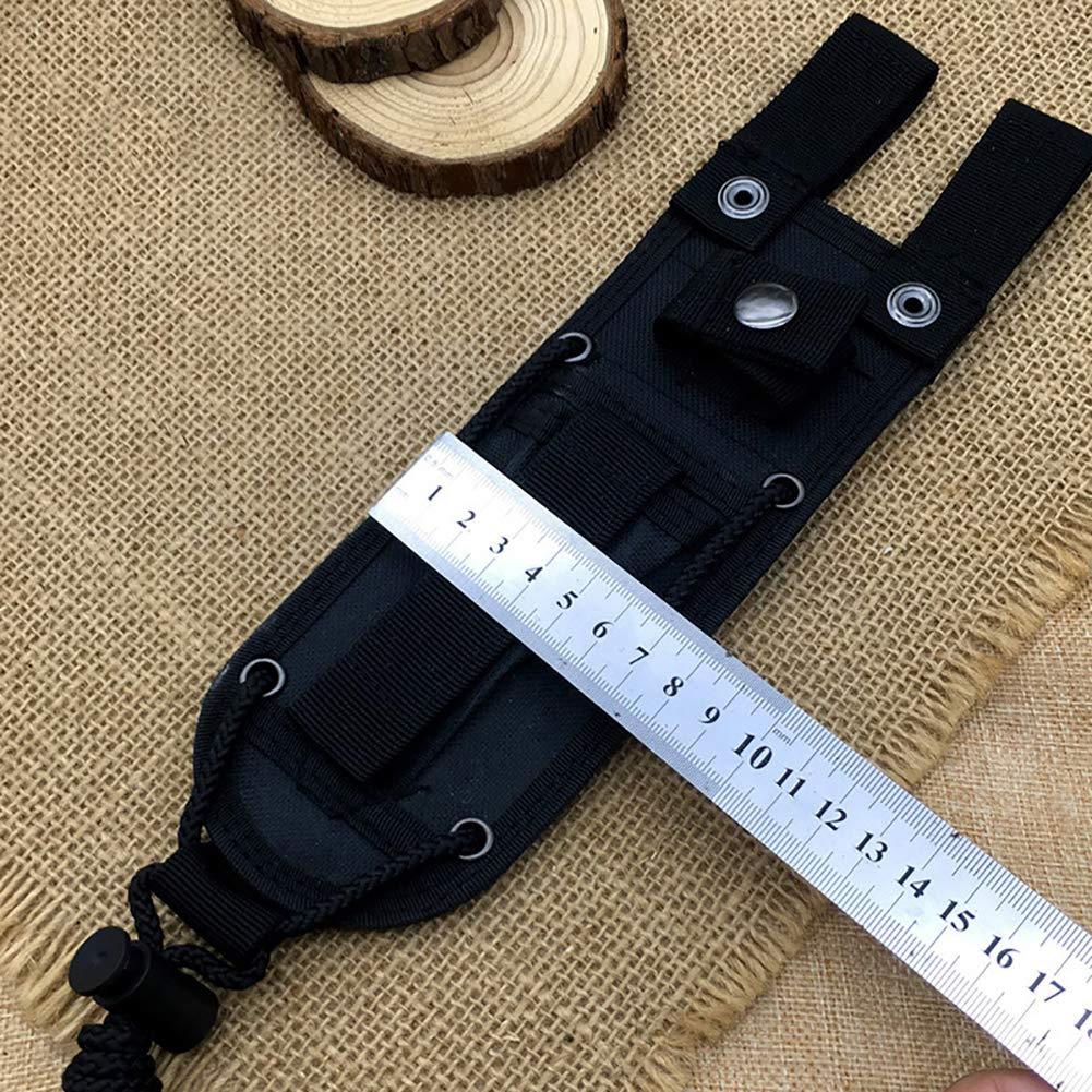 alicates tijeras de podar y tijeras Funda para cuchillos t/ácticos TUYU Oxford TYDB508 negro