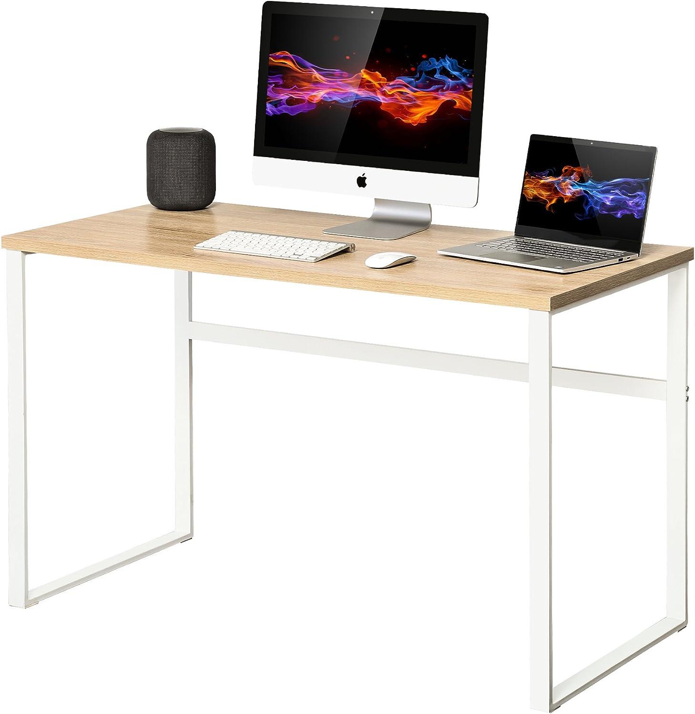 - Homury Computer Desk Office Desk Wood Study Writing Soho Desk