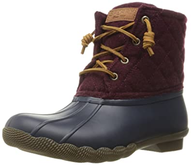 Sperry Rain Women's Wool Sider Saltwater Top Quilted r7xw1T4rq