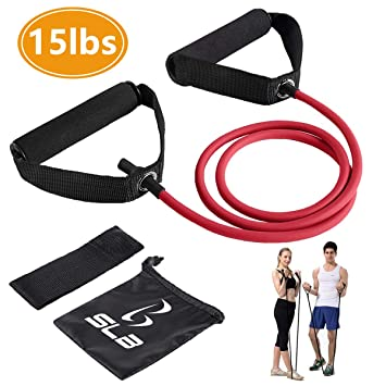 Sports & Entertainment Fitness Resistance For Band Belt Tube Strap Leg Stretching Elastic Latex Unisex 30lb Fitness & Body Building