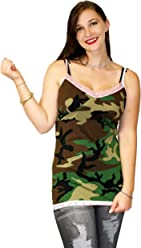 6bfefd1996 Nyteez Women s Sexy Camouflage Chemise Tunic Top