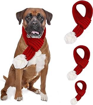 PETCUTE Disfraz de Santa para Perros Disfraces navideños para ...