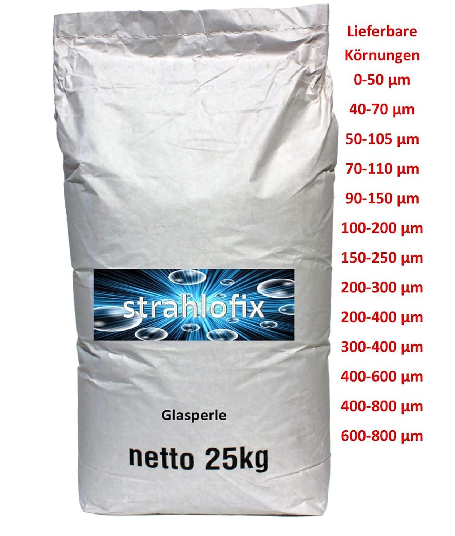 Asilikos 2 mal 25 kg Strahlmittel Strahlgut Sandstrahlen alle K/örnungen 1,4-2,8 mm
