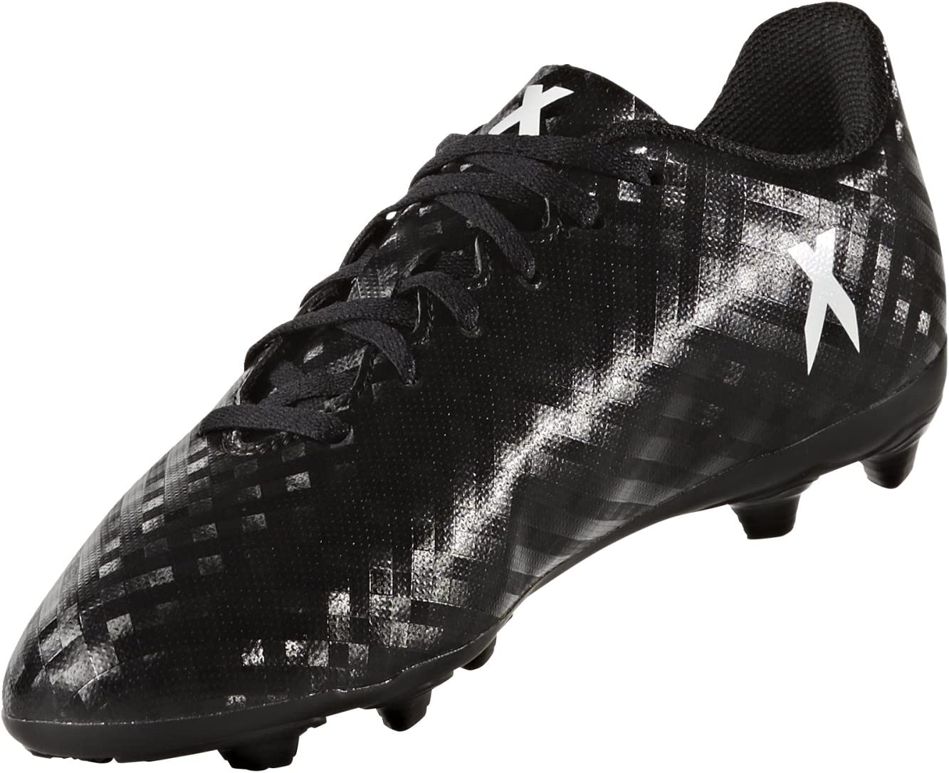 Furioso Interacción pase a ver  adidas X16.4 Fxg J Black/White 1: Amazon.co.uk: Sports & Outdoors