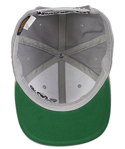 SIMSALABIM GYM - Gorra de béisbol - para Hombre Gris Gris Talla única: Amazon.es: Ropa y accesorios