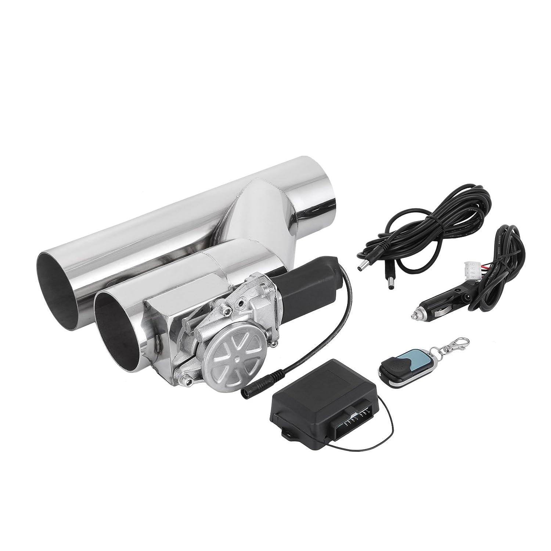 76mm elettrico scarico Exhaust Downpipe Catback E-Cut Out Connessione Sistema