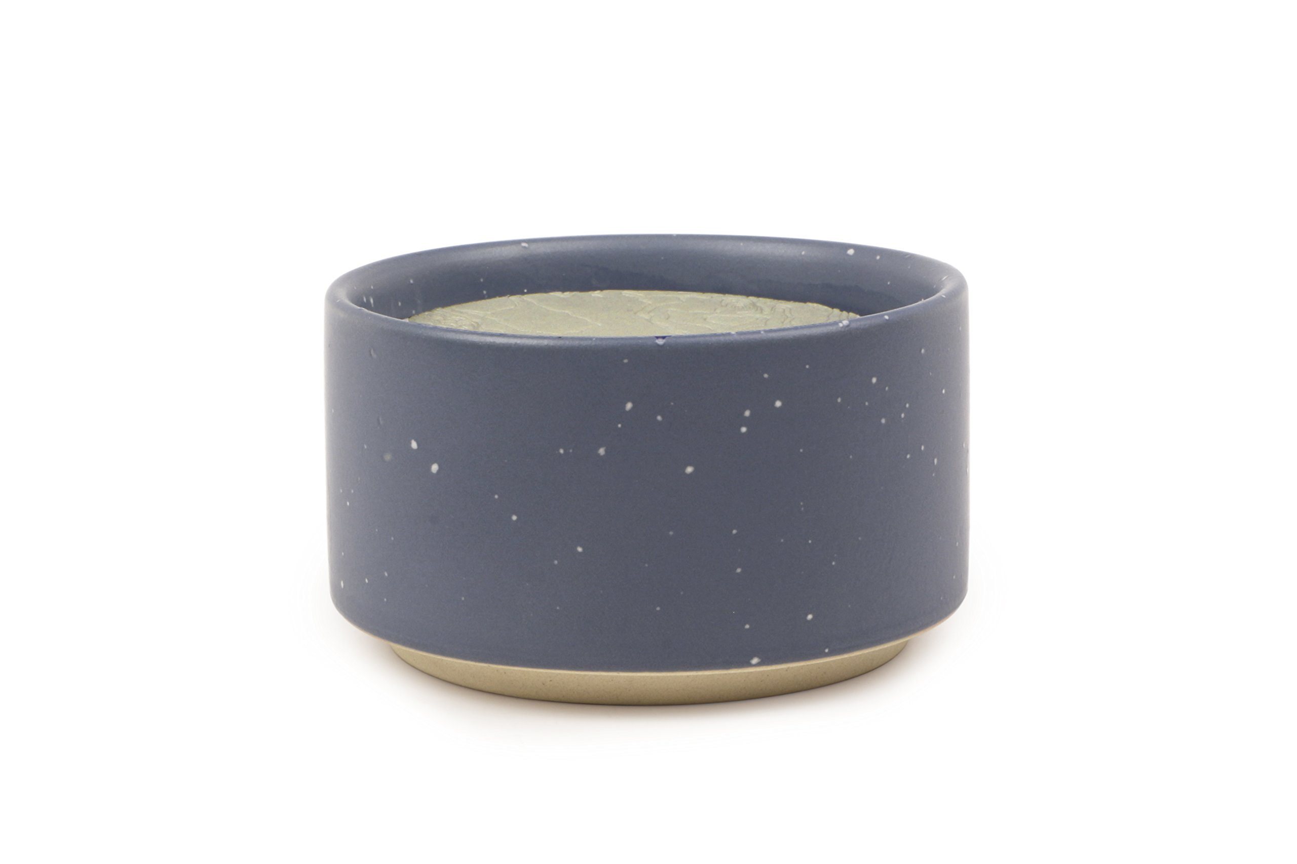 Paddywax Mesa Collection Scented Soy Wax Candle in Matte Speckled Ceramic, 3.5-Ounce, Copal & Myrrh