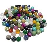 GS6848-5 12mm Perles Rond - Non Magn/étique - Charming Beads Fil De 30+ Gris H/ématite