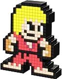 PDP Pixel Pals Capcom Street Fighter Ken Masters Collectible Lighted Figure, 878-033-NA-KEN