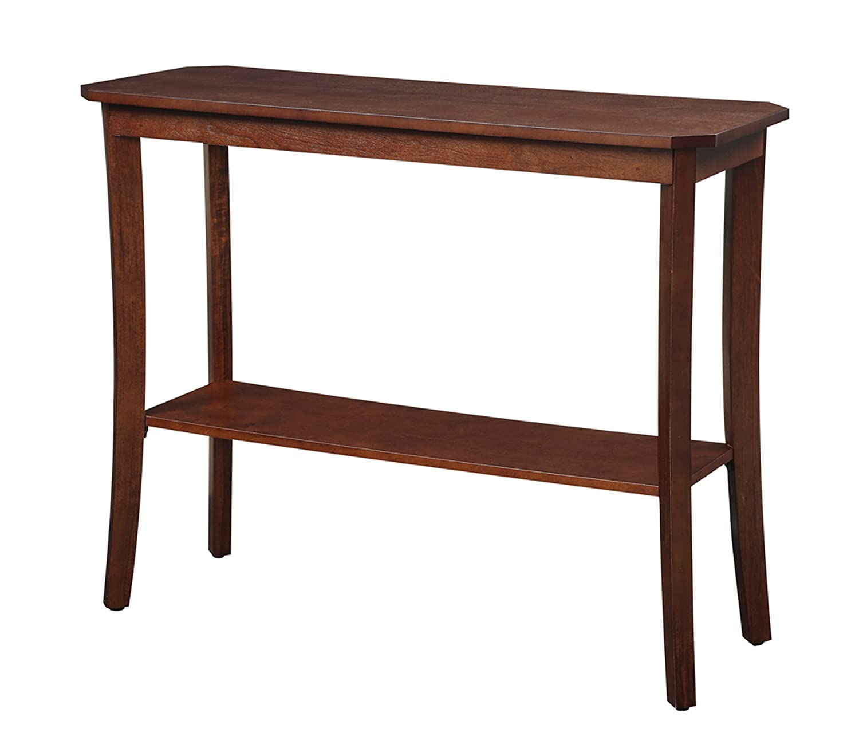 Amazon convenience concepts designs2go baja console table amazon convenience concepts designs2go baja console table mahogany kitchen dining geotapseo Gallery