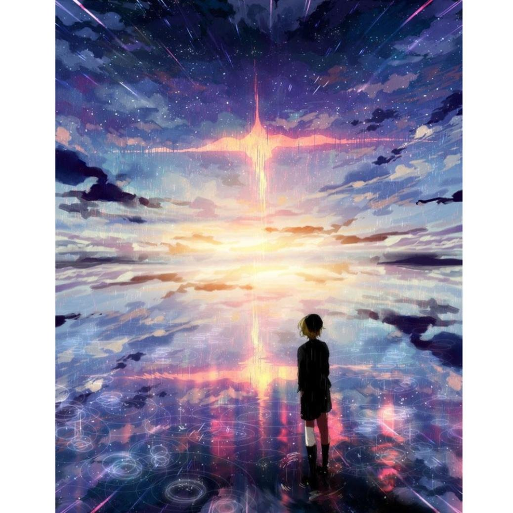 (30x25cm, B) - 5D DIY Diamond Painting Embroidery , Full Drill Girl Beach Rosy Clouds Round Clearance Crystal Rhinestone Cross Stitch Kit Painting Pictures Arts for Adult Home Wall Decor 12 10 inch (B, 30x25cm) B07FM754SF