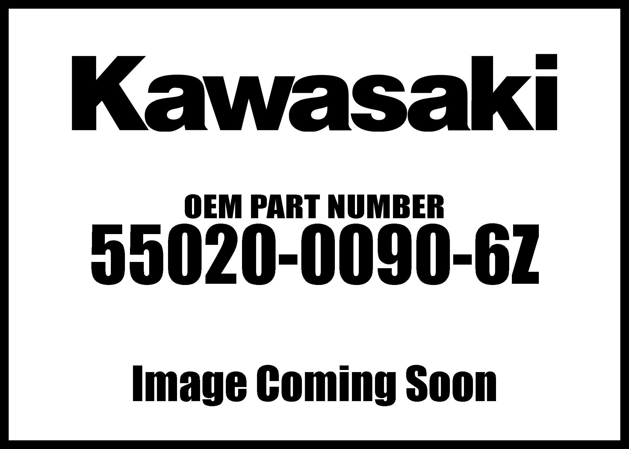 Kawasaki 2005-2016 Mule 600 Mule 610 4X4 Xc Realtree Apg Hd F Front Bumper Guard 55020-0090-6Z New Oem