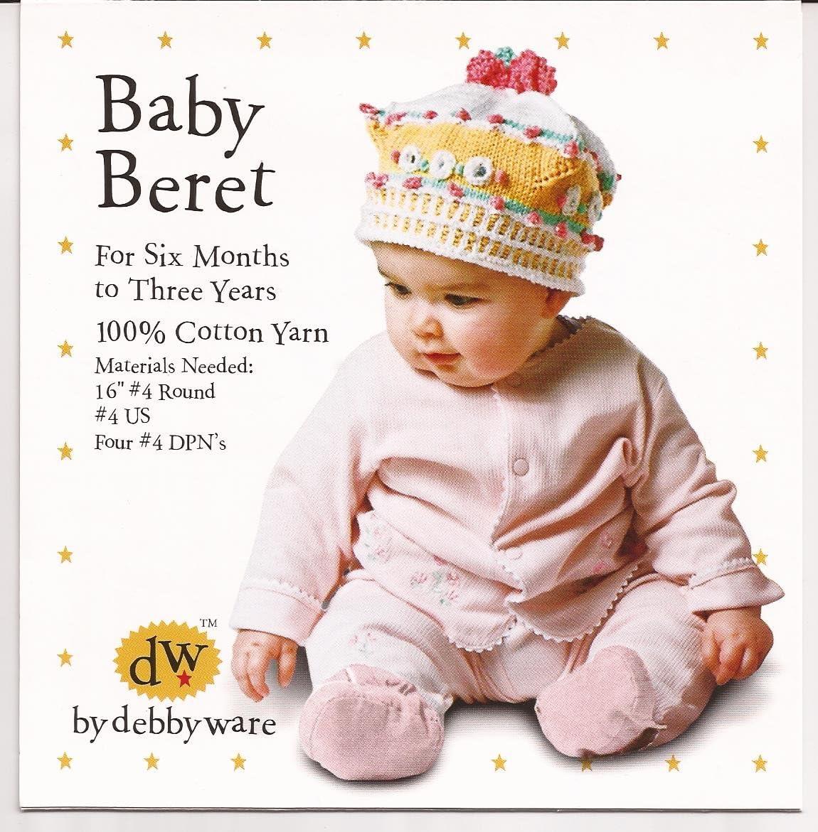 Debby Ware Knitting Pattern Baby Beret