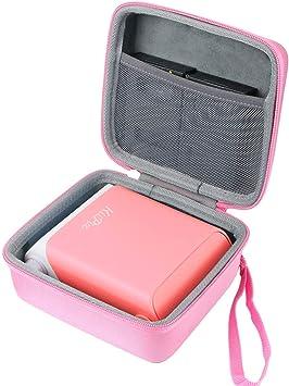 Co2crea Funda Rígida De Repuesto Para Impresora De Fotos Kiipix Para Smartphone Color Rosa Electronics