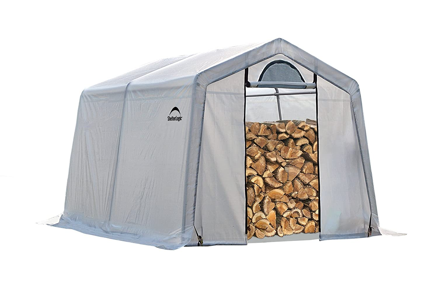 ShelterLogic Firewood Seasoning Shed, 5 x 3.5 x 5 ft. Shelter Logic - LG 90395