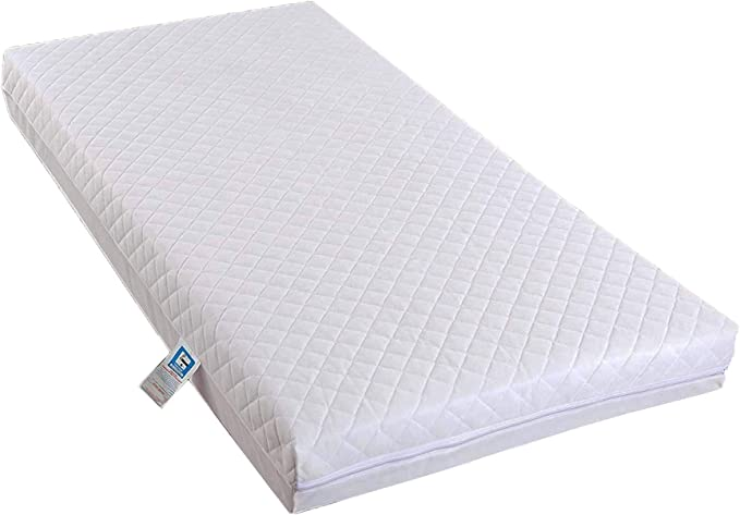 AirComfort Eco-Breathable Hypoallergenic Waterproof Cot Mattress - Best Eco-Friendly Option