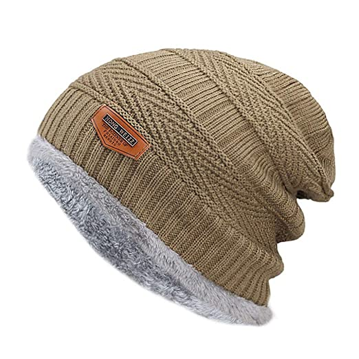 b53b333fc9e Image Unavailable. Image not available for. Color  X-SPORT 2018 Winter Hats  for Men New Beanies Knitted Solid Cute Hat Girls Autumn