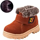 Amazon Price History for:DADAWEN Boy's Girl's Classic Waterproof Suede Leather Snow Boots (Toddler/Little Kid/Big Kid)