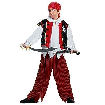 WIDMANN Widman - Disfraz de pirata para niño, talla 11-13 años ...