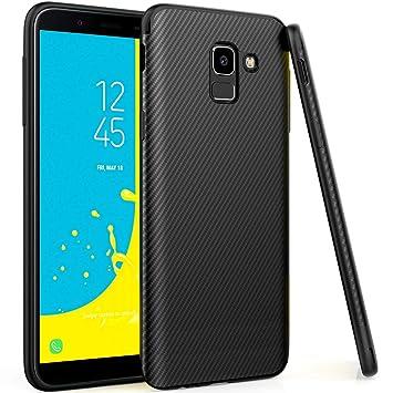 UCMDA Carcasa Samsung J6 2018, Galaxy J6 2018 Carcasa ...