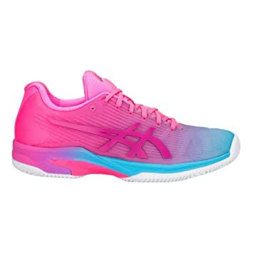 Asics Zapatilla DE Padel Solution Speed FF L.E. Clay 1042A025 Color 400 40.5: Amazon.es: Deportes y aire libre