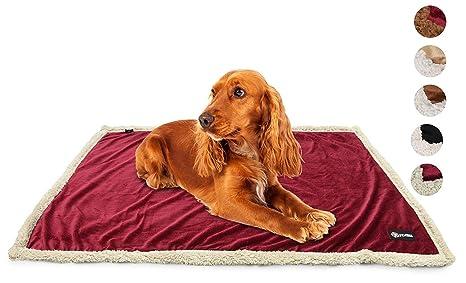 Manta de sherpa para mascota, de Pawsse, manta para perros, gatos y animales