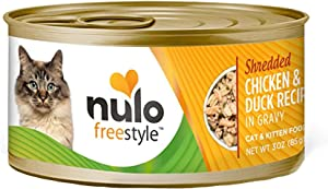 Nulo Adult & Kitten Grain Free Canned Wet Cat Food (Chicken & Duck Recipe, 3 Oz, Case of 24)