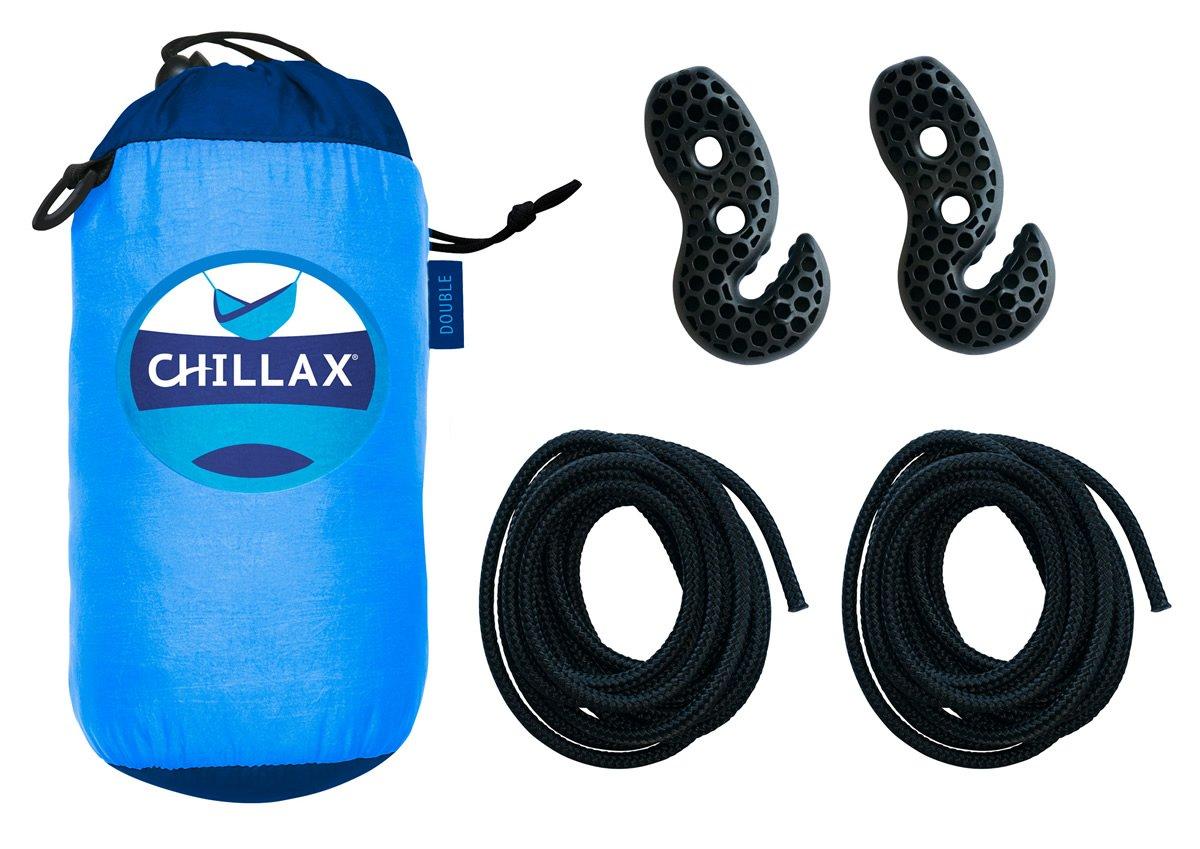 Chillax Travel Hängematte mit Federung Integrierter Federung mit 6ccb13