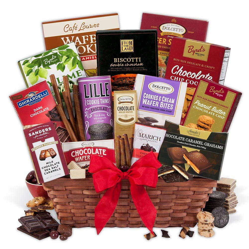 Chocolate Gift Basket Premium by GourmetGiftBaskets.com