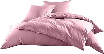 Mako Satin Baumwollsatin Bettwäsche Uni Einfarbig Zum Kombinieren