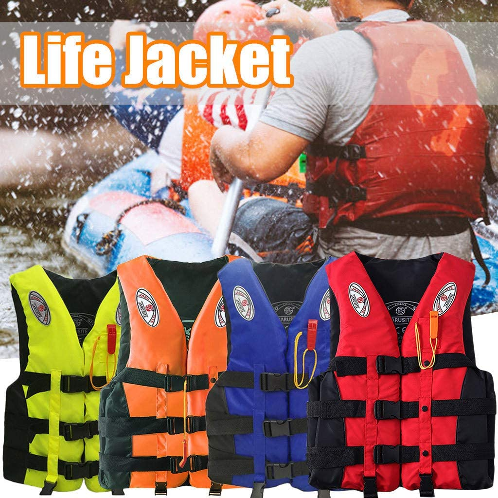 Kids Life Jacket Vest Buoyancy Aid Watersport Kayak Ski Fishing Sail Boat Safe