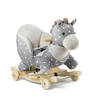 Cavallo A Dondolo Con Ruote.Kinderkraft Bambino Forza Cavallo A Dondolo A Dondolo Con Ruote A