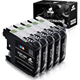 IKONG Compatible Ink Cartridge Replacement for Brother 203 XL Works with Brother MFC-J4320DW MFC-J4420DW MFC-J4620DW MFC…