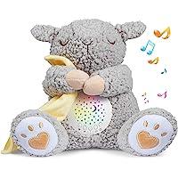 BEREST Baby White Noise Machine, Mom's Heartbeat Lullabies & Shusher Dreamy Sheep Sleep Soother, Nursery Decor Night…