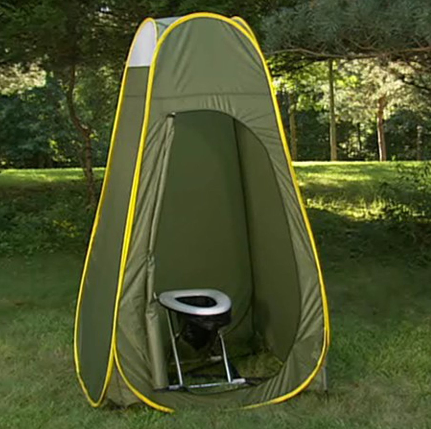Amazon.com  C&ing Travel Toilet and Privacy Pop-up Complete Package  C&ing Sanitation Supplies  Sports u0026 Outdoors  sc 1 st  Amazon.com & Amazon.com : Camping Travel Toilet and Privacy Pop-up Complete ...